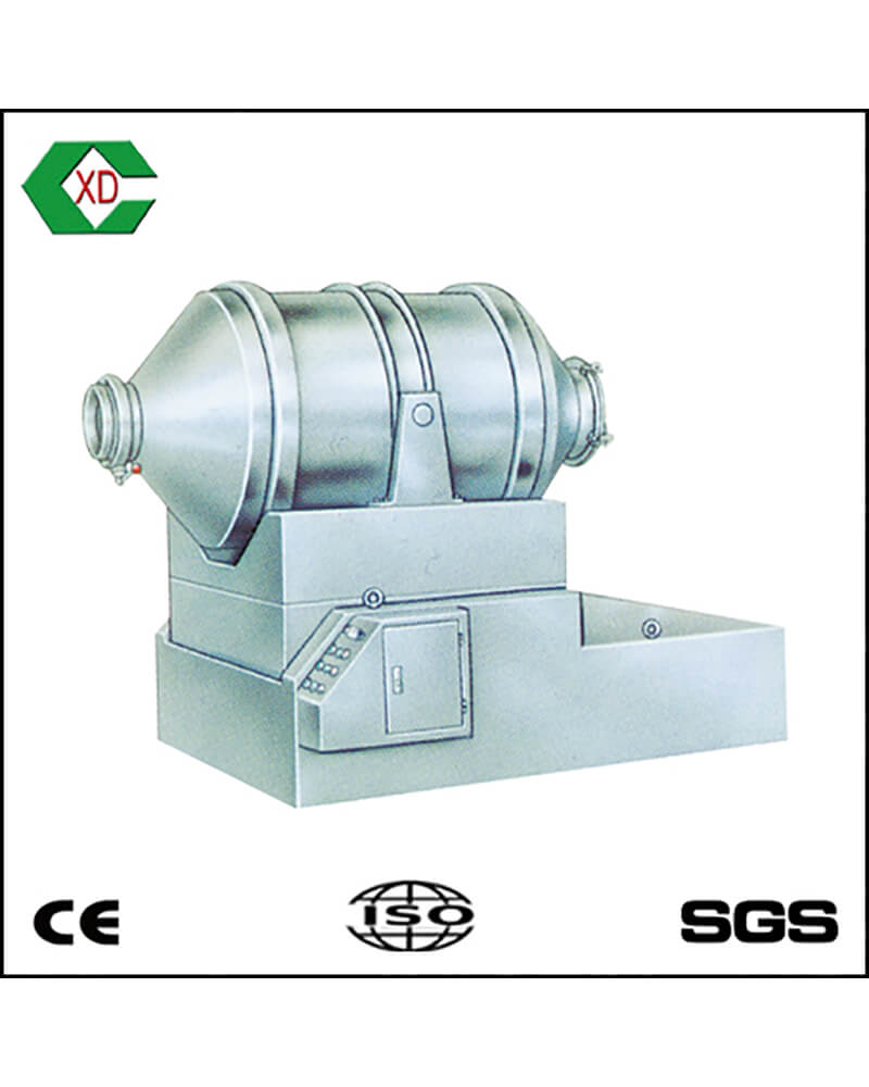 EBH Series Two Dimensional Swing Mixer